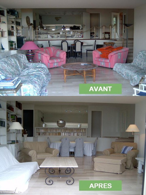 Home staging : avant/après